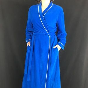 70s Vanity Fair Velour Robe